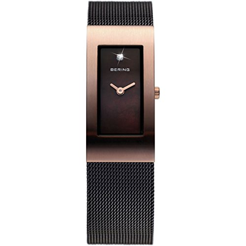 BERING Time 10817-262 Women's Classic Collection Watch with Mesh Band and scratch resistant sapphire crystal. Designed in Denmark.