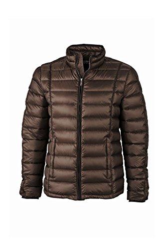 black Con Sportivo Down Quilted Jacket Collo Rialzato Coffee Men's Piumino fCwz1qAxx