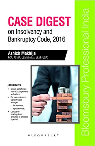 Case Digest on Insolvency and Bankruptcy Code, 2016