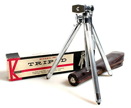 VINTAGE CAMERA TRIPOD IN CASE AND ORIG BOX (Orig Box)