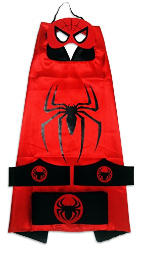 MyTinyHeroes Children's Superhero Costume - 5 Pc Set - Spide
