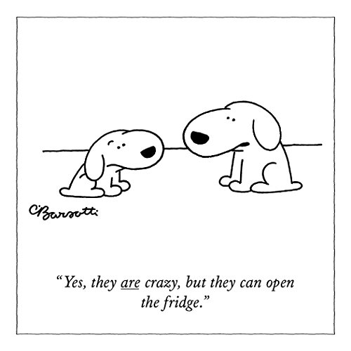 The New Yorker Open The Fridge Flexible Refrigerator Magnet, 3.5 by (Cartoon Magnet)