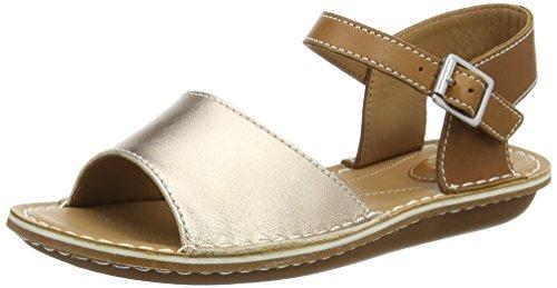 Clarks Tustin Sinitta 女式金色凉鞋 晒单