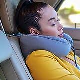 Phixnozar Memory Foam Travel Pillow –Neck