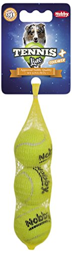 Nobby Tennis Ball with Squeeker, 4 cm, X-Small