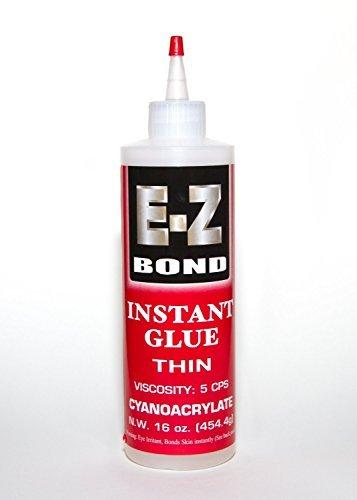 EZ Bond Cyanocrylate Super Glue - 16 OZ - 05 CPS - Strongest bond on Market