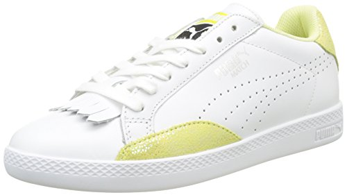 Donna da Yellow Match Puma Basse Puma Lo White Reset Ginnastica Scarpe Bianco Fluo 03 soft Wn's n6n8xpAa