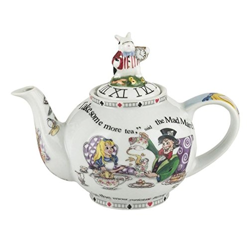 Cardew Design Alice in Wonderland 2-Cup Teapot, 18-Ounce