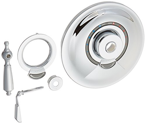 Allura Tub and Shower with Lever Handle Finish: Chrome -