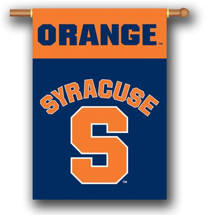 Syracuse Outside House Banner 28 Orange College Football
