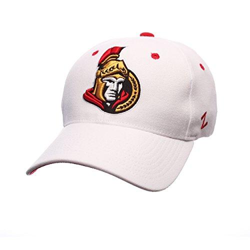 Zephyr NHL Ottawa Senators Men's Breakaway Cap, Large, White