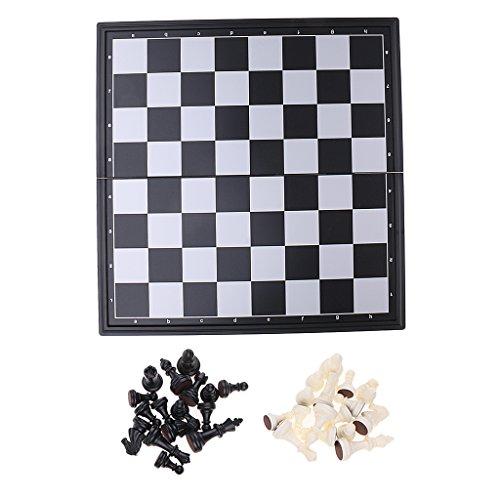 Fityle 折りたたみ 磁気 国際チェス チェスボード チェスゲーム 子供 おもちゃ