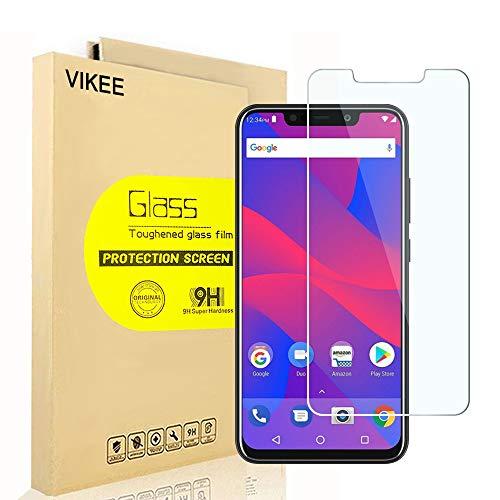 [2-Pack] BLU VIVO XL4 Screen Protector, VIKEE HD Clear Protector [Anti-Scratch] [Anti-Fingerprint] [No-Bubble] [Case-Friendly], 9H Hardness Tempered Glass Screen Film for BLU VIVO XL4
