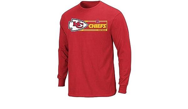 b83b8acc0 Amazon.com   Kansas City Chiefs NFL Mens Long Sleeve Critical Victory Shirt  Big   Tall Sizes (6XL)   Sports   Outdoors