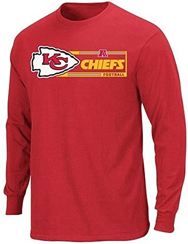 more photos 28e46 c34fd Amazon.com : Kansas City Chiefs NFL Mens Long Sleeve ...