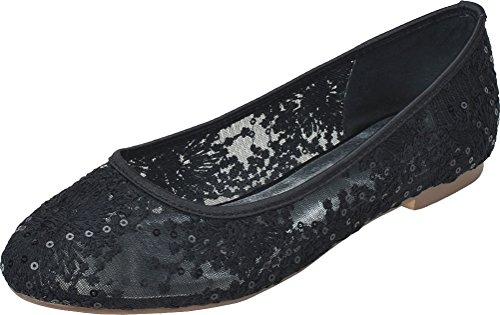 Nice Femme Compensées Noir 5 36 Noir Find Sandales F1AqdFw