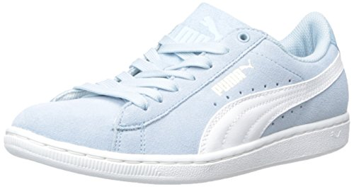 PUMA Women's Puma Vikky Sneaker, Cool Blue/White, 7.5 B US