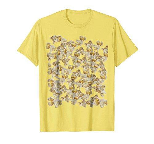 Mens Popcorn Kernel Fun Food Foodie Costume T-Shirt 2XL (Last Minute Halloween Food)