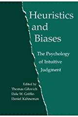 Heuristics and Biases: The Psychology of Intuitive Judgment (English Edition) eBook Kindle