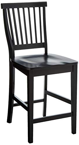 Arts & Crafts Black Bistro Stool by Home Styles