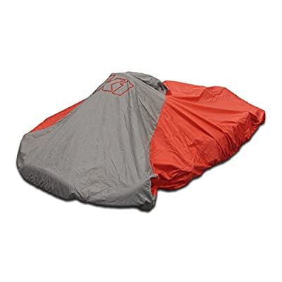 K1 Race Gear 18-NKC-R Red Nylon Waterproof Kart Cover: Automotive