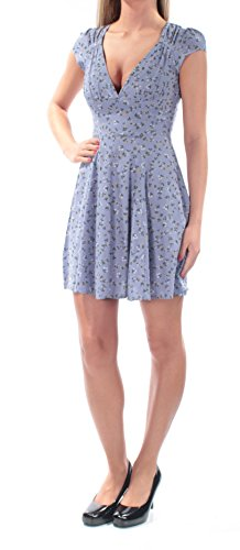 Ralph Lauren Sundress - LAUREN RALPH LAUREN Women's Floral Print Cut-Out Casual Dress Blue 0