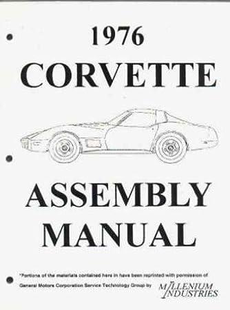 CORVETTE 1968 MANUAL PARTS ASSEMBLY RESTORATION BOOK CHEVROLET
