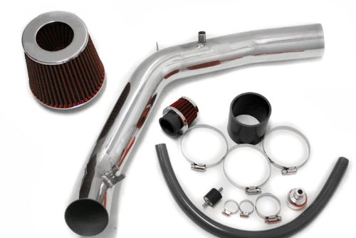 Cold Air Induction Intake System with Air Filter - Volkswagen Golf 1.8T 1999-2004
