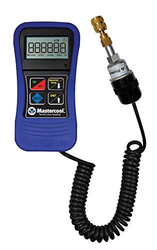 Mastercool (98061) Blue Digital Vacuum Gauge with Blow Molded Case by MASTERCOOL