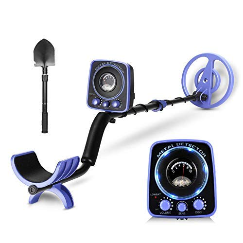 INTEY Upgraded Metal Detector, Blue