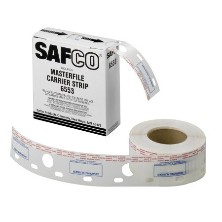 2-1/2''W Polyester Carrier Strips for MasterFile 2 by Safco