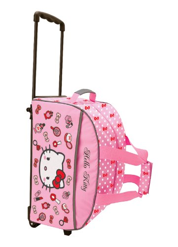HELLO KITTY COSMETIC ROLLING TRAVEL BAG  Amazon.in  Clothing   Accessories aea482e076a46