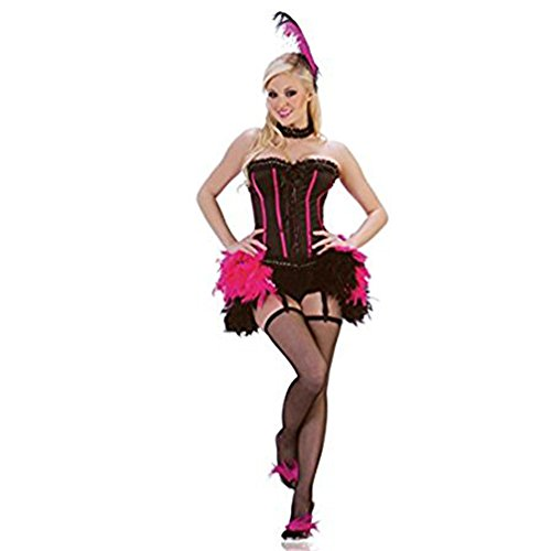 Women's 3 Pieces Starline Vegas Show Girl Costume