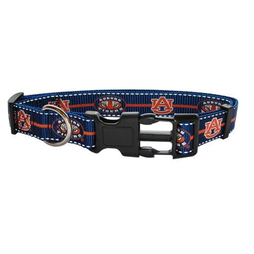 Pet Goods Medium Collegiate 3/4-Inch by 14-Inch - 20-Inch  Dog Collar, Auburn University