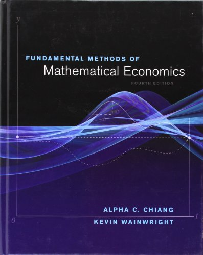 alpha chiang mathematical economics pdf