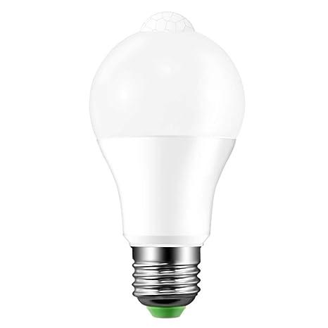 Hemore - Bombilla LED con Sensor de Movimiento (2700 K, infrarroja, para Garaje