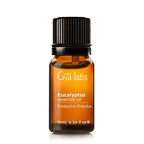 Eucalyptus (Australia) Essential Oil - 100% Pure, Undiluted, Organic, Natural & Therapeutic Grade for Aromatherapy Diffuser, Health Skin and Relaxtion - 10ml - Gya Labs