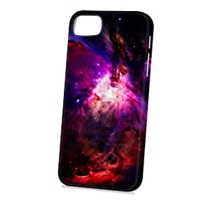 Case Fun Apple iPhone 5 / 5S Case - Vogue Version - 3D Full Wrap - Purple and Red Fire Nebula