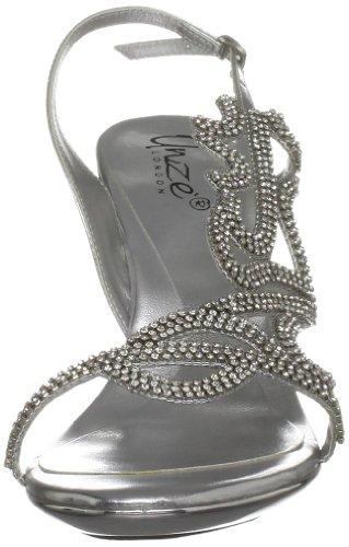 Sandals Argent Unze femme Evening Sandales L18223w FOccWvgAfp