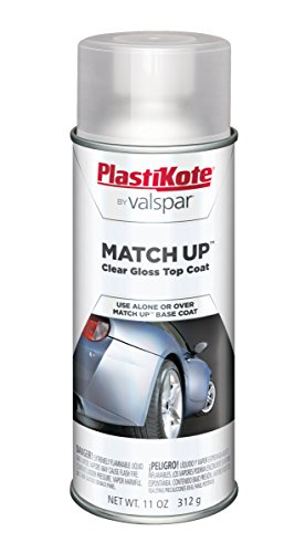 Clear Coat Car Paint - PlastiKote 1000 Universal Clear Coat Automotive Touch-Up Paint - 11 oz.