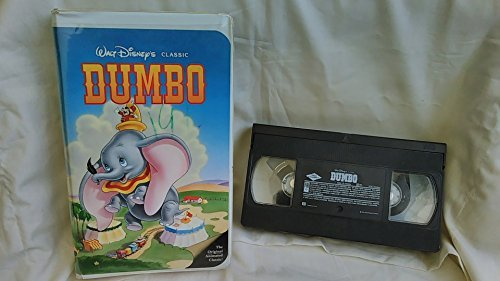 Walt Disney's Classic: Dumbo (Black Diamond Classics Collection) - Vhs Black