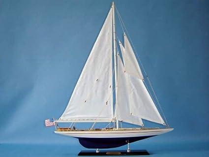 Amazon com: Enterprise Limited Edition Yacht Model Sailboat 27