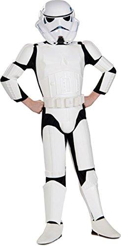 [Rubie's Big Boy's Stormtrooper Child Deluxe Costume Small] (Deluxe Stormtrooper Costumes Child)