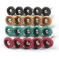 "80Pcs 1"" (25mm) Buffing Wheel, Schuurwiel Buffing Polijstwiel Set voor Dremel Rotary Tools Accessoires...."