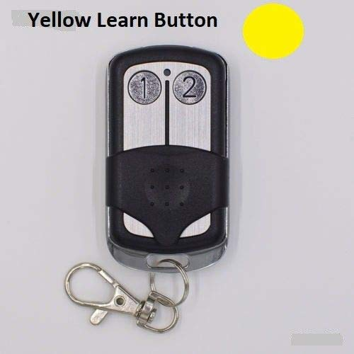 Buy liftmaster remote garage door opener yellow learn button