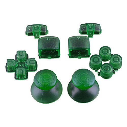 ModFreakz™ Complete Button Set Trans Green For PS3 Controller - Complete Button Set