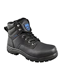 Rocky Moose Men's Winter Boots Light Weight 3M Thinsulate Waterproof with Wool Blend Lining Soft Toe Work Boots - Winner Frost