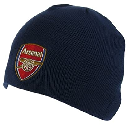 Amazon.com   Arsenal FC - Authentic EPL Knit Hat NV   Cold Weather ... 885b25469c3