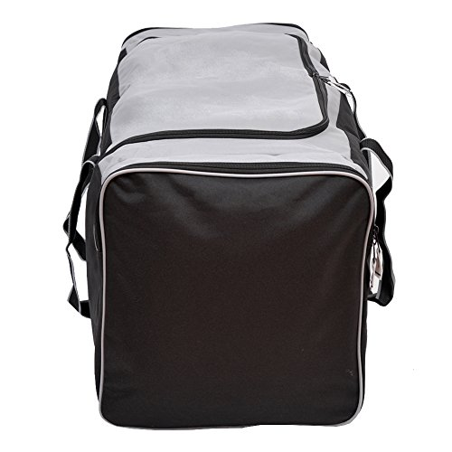 6eb17cd40132 Jetstream 36 Inch 3-Pocket Hockey Equipment Duffle Bag (Grey ...
