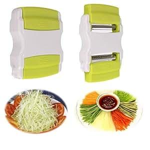 Good Vegetable Potato Carrot Fruit Twister Cutter Slicer Peeler Kitchen Tool-new
